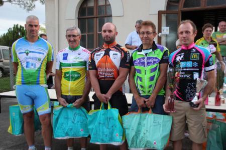 podium Vielle St Girons 2014